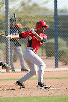 Juan Silva, Cincinnati Reds minor league spring training..Photo by:  Bill Mitchell/Four Seam Images.
