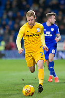 Daryl Horgan of Preston North End during the Sky Bet Championship match between Cardiff City and Preston North End at the Cardiff City Stadium, Cardiff, Wales on 29 December 2017. Photo by Mark  Hawkins / PRiME Media Images.