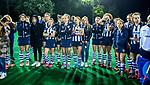 BLOEMENDAAL  - Hockey -  finale KNHB Gold Cup dames, Bloemendaal-HDM . Bloemendaal wint na shoot outs. teleurstelling bij HDM. COPYRIGHT KOEN SUYK