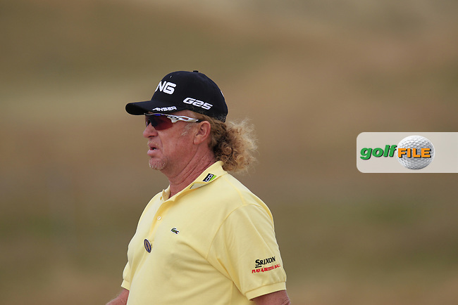 Miguel Angel JIMENEZ (ESP) during round 4 of  The 142th Open Championship Muirfield, Gullane, East Lothian, Scotland 21/7/2013<br /> Picture Eoin Clarke www.golffile.ie: