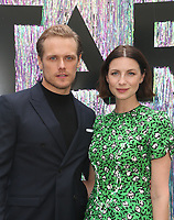 CENTURY CITY, CA - June 2: Sam Heughan, Caitriona Balfe, at Starz FYC 2019 — Where Creativity, Culture and Conversations Collide at The Atrium At Westfield Century City in Century City, California on June 2, 2019. <br /> CAP/MPIFS<br /> ©MPIFS/Capital Pictures