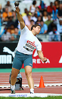 Laurence Manfredi at the Samsung Diamond League. Paris,France Friday, July  16, 2010. photo by Errol Anderson.