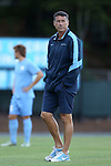 04 October 2016: UNC head coach Carlos Somoano. The University of North Carolina Tar Heels hosted the UNC Wilmington Seahawks at Fetzer Field in Chapel Hill, North Carolina in a 2016 NCAA Division I Men's Soccer match. UNC won the game 1-0.