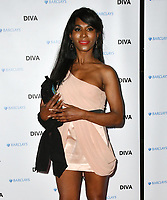 Sinitta at the DIVA Magazine Awards - Lesbian and bisexual magazine hosts annual awards ceremony at Waldorf Hilton, London, 8th June 2018, England, UK.<br /> CAP/JOR<br /> &copy;JOR/Capital Pictures