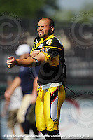 July 16, 2010; Hamilton, Ontario, Canada; Hamilton Tiger-Cats kicker Sandro DeAngelis (4). CFL football: Winnipeg Blue Bombers vs. Hamilton Tiger-Cats at Ivor Wynne Stadium. The Tiger-Cats defeated the Blue Bombers 28-7. Mandatory Credit: Ron Scheffler. Copyright (c) 2010 Ron Scheffler.