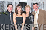 At Jimmy Deenihan's 25th Anniversary celebrations in The Listowel Arms Hotel on Friday night were Sean O'Leary Karen and Mary and Ben Brosnsn, all from Knocknagoshel.  .   Copyright Kerry's Eye 2008