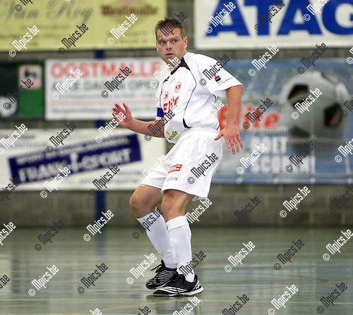2008-08-30 / Futsal / Supercup: Malle - Charleroi / Raf Govers..Foto: Maarten Straetemans (SMB)