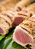 Seared Ahi at Koloa Fish Market on the island of Kauai, Hawaii. Photo by Kevin J. Miyazaki/Redux