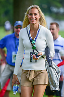 Sofia Lundstedt girlfriend of Rafa Cabrers Bello (ESP) during Friday's round 2 of the World Golf Championships - Bridgestone Invitational, at the Firestone Country Club, Akron, Ohio. 8/4/2017.<br />