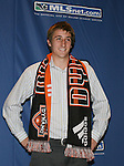 12 January 2007: John Michael Hayden was taken by the Houston Dynamo with the overall #13 pick. The 2007 MLS SuperDraft was held in the Indianapolis Convention Center in Indianapolis, Indiana during the National Soccer Coaches Association of America's annual convention.