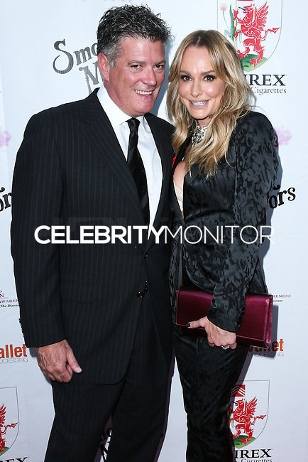 BEVERLY HILLS, CA, USA - SEPTEMBER 13: John Bluher and Taylor Armstrong arrive at the Brent Shapiro Foundation For Alcohol And Drug Awareness' Annual 'Summer Spectacular Under The Stars' 2014 held at a Private Residence on September 13, 2014 in Beverly Hills, California, United States. (Photo by Xavier Collin/Celebrity Monitor)