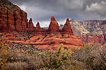 Red Rock country in the Munds Mountain Wilderness, Coconino National Forest, AZ, USA
