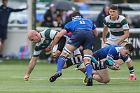 Sam Dickinson of Ealing Trailfinders during the British & Irish Cup Final match between Ealing Trailfinders and Leinster Rugby at Castle Bar, West Ealing, England  on 12 May 2018. Photo by David Horn / PRiME Media Images.