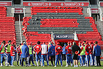 20 November 2010: FC Dallas held a practice at BMO Field in Toronto, Ontario, Canada as part of their preparations for MLS Cup 2010, Major League Soccer's championship game.