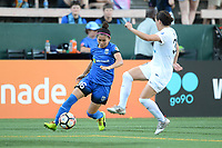 Seattle, WA - Friday June 23, 2017: Nahomi Kawasumi during a regular season National Women's Soccer League  (NWSL) match between the Seattle Reign FC and FC Kansas City at Memorial Stadium.