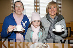 Joan and Ciara O'Sullivan and Margaret  enjoying Kenmare's Sailing Club coffee morning fund-raiser at the Landsdowne Arms Hotel.
