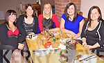 Little Treasures Cre?che Cahersiveen had their christmas party in Number Five Bistro Cahersiveen on Saturday night pictured here l-r; Louise O'Sullivan, Colleen O'Sullivan, Norma O'Shea, Linda Wharton & Elaine Brennan.