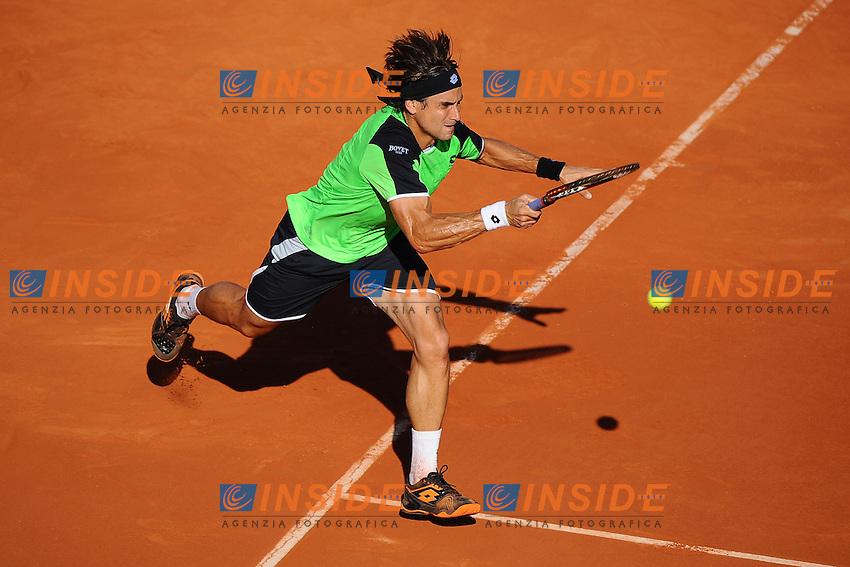 David Ferrer (ESP) <br /> Parigi 7/6/2013<br /> Tennis Roland Garros <br /> Foto Panoramic / Insidefoto<br /> ITALY ONLY