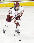 Mary Restuccia (BC - 22) - The Boston College Eagles defeated the Boston University Terriers 2-1 in the opening round of the Beanpot on Tuesday, February 8, 2011, at Conte Forum in Chestnut Hill, Massachusetts.