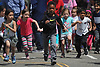 Children compete in the the Kids Mini Marathon in Eisenhower Park's Safety Town during Long Island Marathon Weekend festivities on Saturday, May 5, 2018.