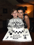 Margaret Tuite celebrating her 40th birthday in The Venue at McHugh's with her son Cillian. Photo:Colin Bell/pressphotos.ie