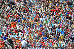 9 March 2011: Detroit Tiger fans fill the ballpark during a Spring Training game against the Philadelphia Phillies at Joker Marchant Stadium in Lakeland, Florida. The Phillies defeated the Tigers 5-3 in Grapefruit League play. Mandatory Credit: Ed Wolfstein Photo
