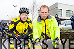 Pictured are the Currow cycle club team who took part in the Lacey Cup Cycle on Sunday were Darragh Looney and Pa Breen