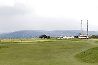 View from the 14th tee during Round 3 of The Irish Amateur Open Championship in The Royal Dublin Golf Club on Saturday 10th May 2014.<br /> Picture:  Thos Caffrey / www.golffile.ie