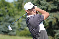 Brooks Koepka (USA) during the third round of the Northern Trust played at Liberty National Golf Club, Jersey City, New Jersey, USA. 10/08/2019<br /> Picture: Golffile | Phil Inglis<br /> <br /> All photo usage must carry mandatory copyright credit (© Golffile | Phil Inglis)