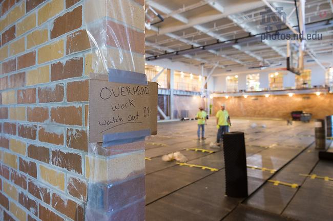 March 8, 2017; Duncan Student Center 3rd floor under construction (Photo by Matt Cashore/University of Notre Dame)