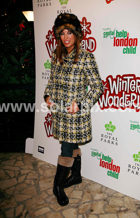 **ALL ROUND PICTURES FROM SOLARPIX.COM**.*WORLDWIDE RIGHTS*.Guests attend the Winter Wonderland launch party at Hyde Park, London. Thursday 29th November 2007..This pic: Catalina..JOB REF:  5427 GMT   DATE: 29_11_2007 .**MUST CREDIT SOLARPIX.COM OR DOUBLE FEE WILL BE CHARGED* *UNDER NO CIRCUMSTANCES IS THIS IMAGE TO BE REPRODUCED FOR ANY ONLINE EDITION WITHOUT PRIOR PERMISSION*