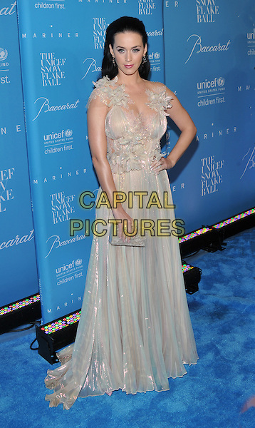 New York, NY: November 30: Katy Perry attends the 12th Annual UNICEF Snowflake Ball at Cipriani Wall Street on November 29, 2016 in New York City. <br /> CAP/MPI/PAL<br /> &copy;PAL/MPI/Capital Pictures