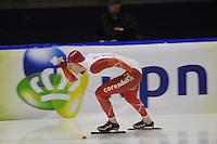 SCHAATSEN: HEERENVEEN: 16-01-2016 IJsstadion Thialf, Trainingswedstrijd Topsport, Sjoerd de Vries, ©foto Martin de Jong
