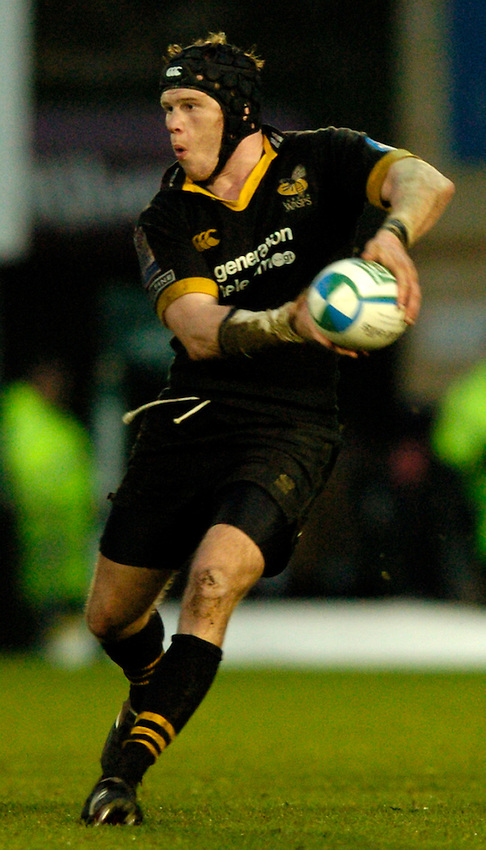Photo: Richard Lane..London Wasps v Calvisano. Heinenken Cup. 25/01/2004..Jonny O'Connor.