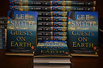 "CORAL GABLES, FL - November 11: General view of books on display during Author Lee Smith discussion and signing of her book ""Lee Smith: Guest On Earth"" at Books and Books Coral Gables on November 11, 2013 in Pembroke Pines, Florida. (Photo by Johnny Louis/jlnphotography.com)"