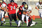 Palos Verdes, CA 11/10/10 - Belal Awad (Peninsula #37) in action during the junior varsity football game between Peninsula and Palos Verdes at Palos Verdes High School.