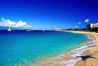 Prendall beach, Kaanapali, Maui