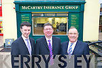 Donal Buckley.(branch manager),.James McAuley.(commercial manager).and Joseph.M Murphy (commercial.consultant).pictured outside.their.premises in the.Square, Tralee.   Copyright Kerry's Eye 2008