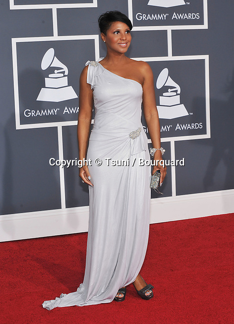Toni Braxton _884   -<br />  52nd Annual GRAMMY  Awards at the Covention Center In Los Angeles.