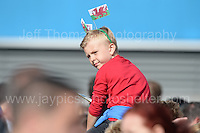 Fans at the stadium waiting for the Wales squad to arrive by an open top bus during the homecoming celebrations at the Cardiff City stadium on Friday 8th July 2016 for the Euro 2016 Wales International football squad.<br /> <br /> <br /> Jeff Thomas Photography -  www.jaypics.photoshelter.com - <br /> e-mail swansea1001@hotmail.co.uk -<br /> Mob: 07837 386244 -