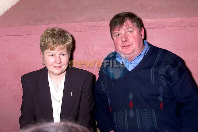 Sheila and Peter Conroy at Aclint National School's reunion..Picture Paul Mohan Newsfile