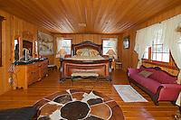 Stock photo of rustic bedroom