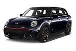 2020 MINI Clubman 5 Door Wagon Angular Front automotive stock photos of front three quarter view