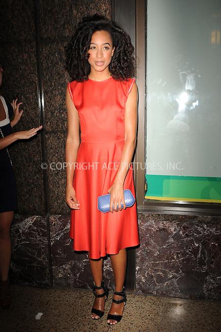 WWW.ACEPIXS.COM . . . . . .September 13, 2011 New York City.....Corinne Bailey Rae attends  the Oscar de la renta fashion show on September 13, 2011 in New York City....Please byline: KRISTIN CALLAHAN - ACEPIXS.COM.. . . . . . ..Ace Pictures, Inc: ..tel: (212) 243 8787 or (646) 769 0430..e-mail: info@acepixs.com..web: http://www.acepixs.com .