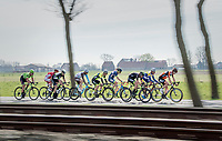 early breakaway group<br /> <br /> 79th Gent-Wevelgem 2017 (1.UWT)<br /> 1day race: Deinze › Wevelgem - BEL (249km)