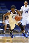 05 November 2015: Duke's Kyra Lambert. The Duke University Blue Devils hosted the Pfeiffer University Falcons at Cameron Indoor Stadium in Durham, North Carolina in a 2015-16 NCAA Women's Basketball Exhibition game. Duke won the game 113-36.