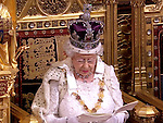 27.05.2015, London; UK: QUEEN ELIZABETH<br />accompanied by the Duke of Edinburgh, Prince Charles and Camilla, Duchess of Cornwall attend the Opening of Parliament in Westminster.<br />This maybe the last time that the Queen will wear the Imperial State Crown for the event as it has been suggested that it maybe to heavy for her back.<br />MANDATORY PHOTO CREDIT: &copy;NEWSPIX INTERNATIONAL<br /><br />(Failure to credit will incur a surcharge of 100% of reproduction fees)<br /><br />**ALL FEES PAYABLE TO: &quot;NEWSPIX  INTERNATIONAL&quot;**<br /><br />Newspix International, 31 Chinnery Hill, Bishop's Stortford, ENGLAND CM23 3PS<br />Tel:+441279 324672<br />Fax: +441279656877<br />Mobile:  07775681153<br />e-mail: info@newspixinternational.co.uk