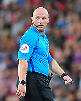 Referee Simon Hooper during AFC Bournemouth vs Real Betis, Friendly Match Football at the Vitality Stadium on 3rd August 2018