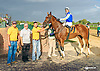 Indian Red winning at Delaware Park on 9/29/15