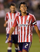 Chivas USA veteran defender Claudio Suarez. Los Tigres de UANL defeated the Chivas USA 2-1 during a 2009 SuperLiga match at Home Depot Center stadium in Carson, California on Saturday evening June 20, 2009.   .
